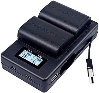 PALO LP E6 Batterie de Remplacement et Chargeur Rapide