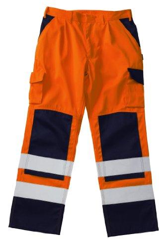 Mascot 07179-860-141 werkbroek Olinda maat 50 marine oranje