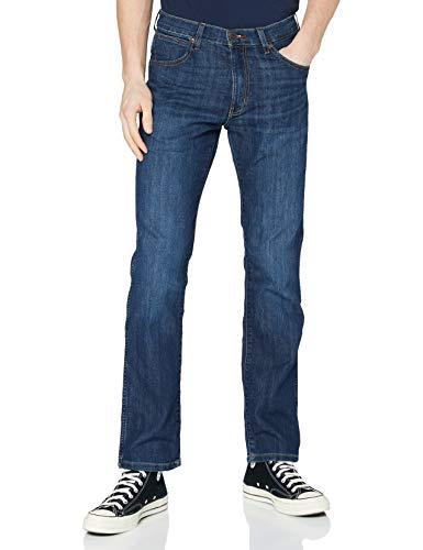 Wrangler Herren Straight Leg Jeans ARIZONA STRETCH, Blau (Cool Hand 18), 42W/32L