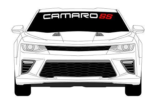 Camaro Window Sticker Windshield Decal Chevy ss Graphics
