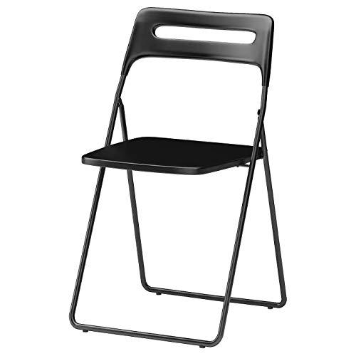 Ikea Nisse Klappstuhl aus Kunststoff (schwarz)