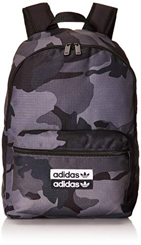 adidas Camo Classic Backpack Backpacks, Hombre, Multicolor/Mgh Solid Grey, NS