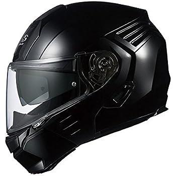 オージーケーカブト(OGK KABUTO)バイクヘルメット システム KAZAMI ブラックメタリック L (頭囲 59cm~60cm)