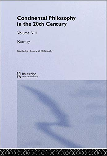 Routledge History of Philosophy. 20th Century Continental Philosophy (English Edition)