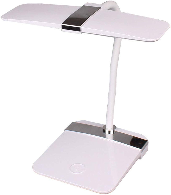 Schreibtischlampen Tischlampe, Augenschutz Tischlampe Led Lade Plug-in Schlafzimmer Nachtleselampe Schlafsaal Kinder Dimmen, Tischlampe Tisch- & Nachttischlampen (Farbe   -, Größe   -)