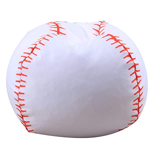 AMGJ Bolsa de Almacenamient para Juguetes de Peluche para Niños, Bolsa de Almacenamiento de Juguetes,Baseball,26inch