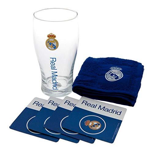 Real Madrid FC - Set oficial de minibar (Talla Única) (Azul)