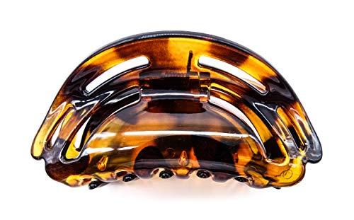 irresistible1 Pince à cheveux tendance élégante en forme de tortue 9 cm