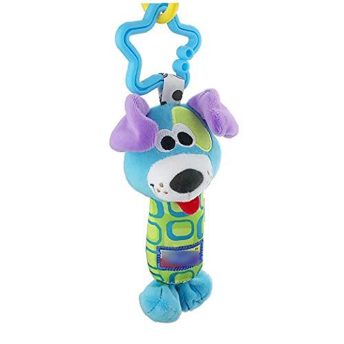 Aardich Traqueteos Colgantes 1pcs Niño Recién Nacido Bebé Casa Cuna Cochecito Handbells Juguetes (Lindo Perro) Producto del Bebé