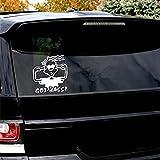 Etiquetas engomadas del coche 2Pcs Got Bass Automóviles Motocicletas Accesorios Calcomanía de vinilo 6 'X9'