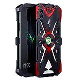 YUCPING For Xiaomi Black Shark 2 Tiburón Negro Caja Protectora De Aleación Hammer II Prueba De Golpes Funda para teléfono móvil