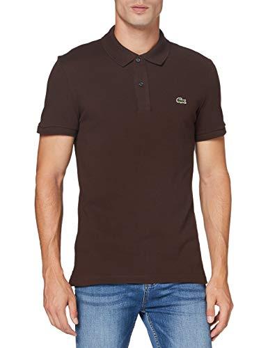 Lacoste Mens PH401200 Polo Shirt Marron TERREUX M