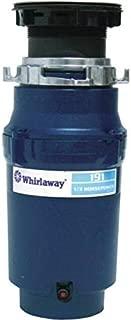 Premier 191-pc Whirlaway Garbage Disposal with Plug, 1/3 hp