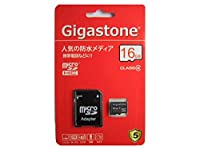 Gigastone microSDHCカード 16GB Class4 5年保証 GJM4/16G
