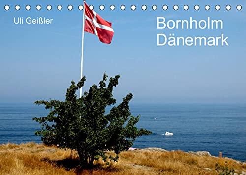 Bornholm - Dänemark (Tischkalender 2022 DIN A5 quer)