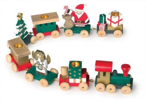 Small foot company Train de Noël Porte Bougies