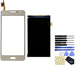 VEKIR Display Screen Replacement + Touch Replacement Screen for Samsung Galaxy Grand Prime (Golden)