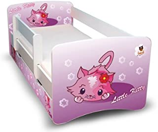 Best For Kids Children s Bed Youth bed 80x180 with roll-out protection and two drawers design