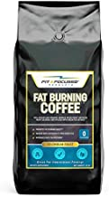Fat Burning Coffee- Organic Colombian Ground Roast Infused With Green Tea Extract, Keto Friendly 100% Kosher Micro Roast with Powerful Antioxidants- (10 Ounce Bag)