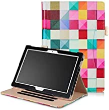 Multi-angle Stand PU Leather Cover Print & Solid Color Magnet Smart Case For Lenovo TAB 4 10 Plus/TB-X704N/F