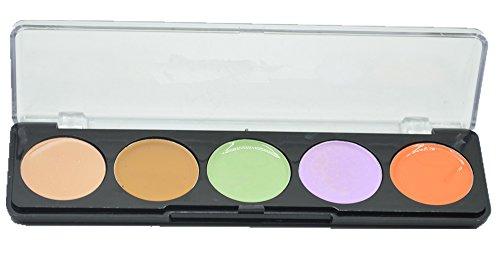 FantasyDay® 5 Couleurs Palette de Maquillage Correcteur Camouflage Crème Cosmétique Set - Convient Parfaitement pour une Utilisation Professionnelle o