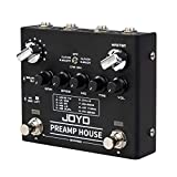 JOYO R-15 Preamp House Multi Effect Pedal, 18 Tones & 9 AMPs Preamp Simulator Multi Pedal, With Distortion & Clean Dual...