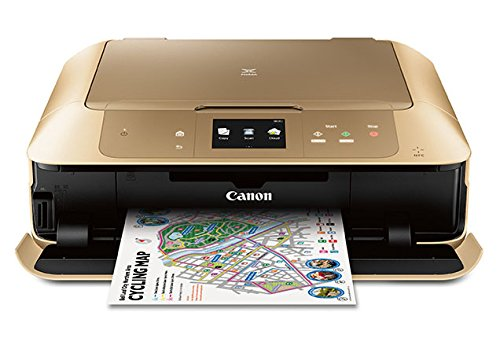 Canon MG7720 Wireless All-In-One Printer with Scanner and Copier: Mobile and Tablet Printing, with Airprint and Google Cloud Print compatible, Gold