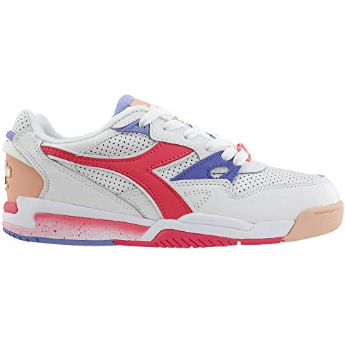Diadora Womens Rebound Ace Lace Up Sneakers Shoes Casual - White - Size 6.5 B