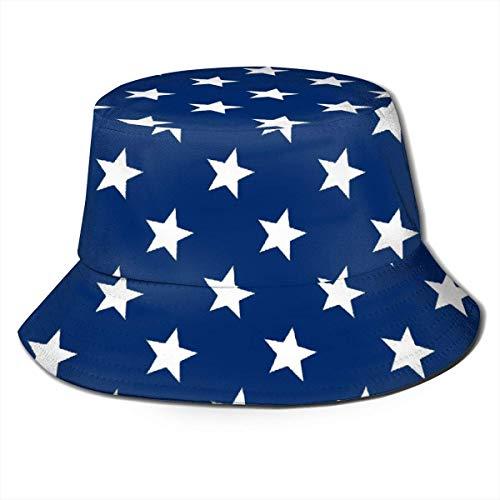 shenguang Lindo Sombrero de Cubo para Mujer, Reversible, Plegable, para el Sol, diseño único, gnomo