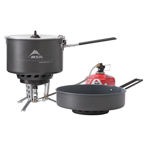 MSR WindBurner Stove and Cookware System Combo