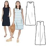 Style Arc Patrón de costura – vestido de vaina de junio (tallas 18-30)