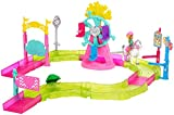 Barbie On the go, Parque de atracciones, muñeca con accesorios (Mattel FHV70)
