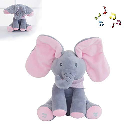 Plush Toy Peek-A-Boo Elephant, A…