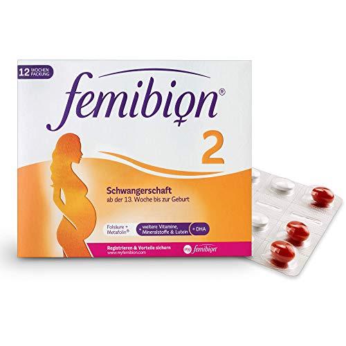 Femibion 2 Schwangerschaft Tabletten 12 Wochen, 168 St.