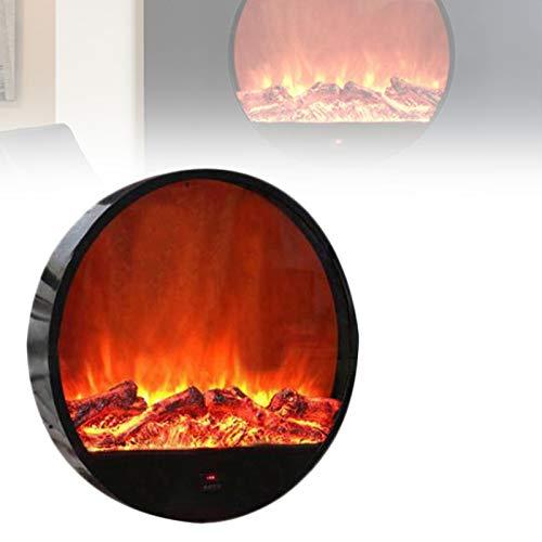 0℃ Outdoor Chimenea Eléctrica, Chimenea Decorativa en Inserción o de Pie con...