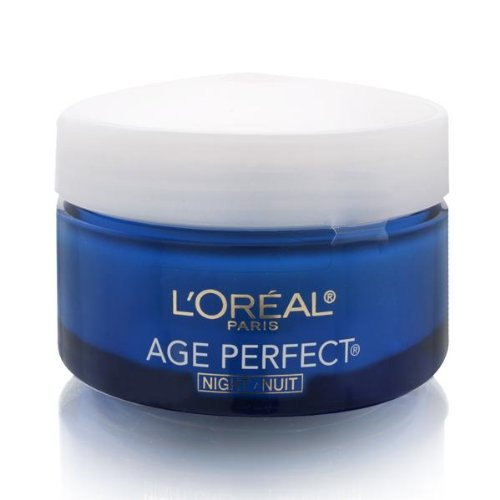 L'Oreal Paris Age Perfect Anti-Sagging + Even Tone Night Moisturizer - 2.5oz