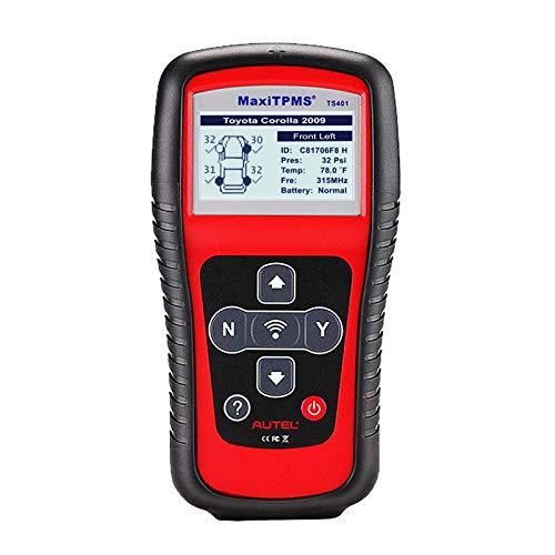 TPMS Relearn Tool MaxiTPMS , TPMS Reset, Sensor Activation, Program MX-Sensor, Key Fob Testing, Tire Pressure Monitor Sensor Reset Tool for GM, Ford and More Vehicle Brands - Autel TS401