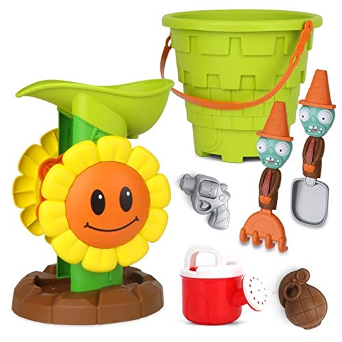 Safety 7-Piece Financial sales Price reduction sale Children Beach Water Toy : Sunflower Color