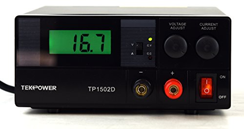 Tekpower Linear Power Supply 15V @ 2A, TP1502D, Digital Display