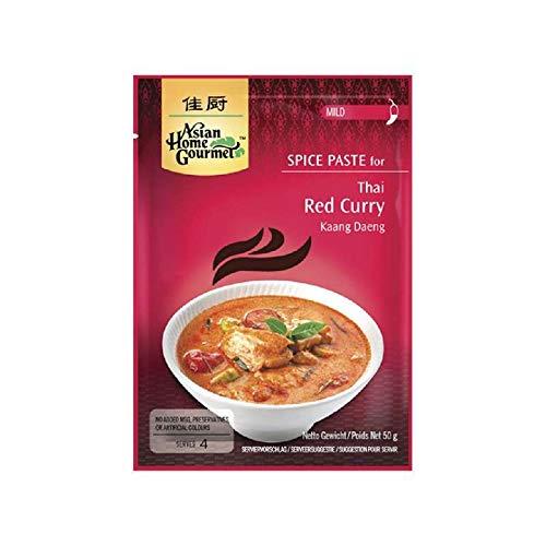 Pasta de curry rojo - 50g para 4 comensales