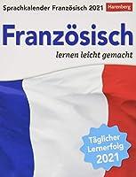 Sprachkalender Franzoesisch 2021: Sprachen lernen leicht gemacht