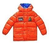 Moncler UBAYE - Chaqueta de plumón con capucha para niño, color naranja Arancione 12 años