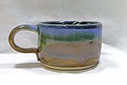This pottery 9th anniversary gifts for him shaving mug helps him look just as nice as the day you first saw him.
