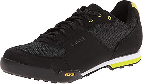 Giro Petra VR MTB, Zapatos de Bicicleta de montaña para Mujer, Multicolor (Black/Wild Lime 000), 36 EU