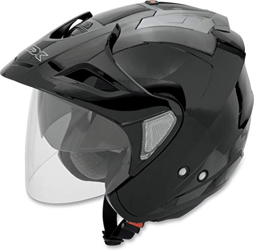 AFX Unisex-Erwachsene 0104-1366 Helm, schwarz, Large