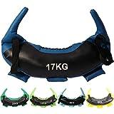 POWRX Saco Búlgaro 22 kg - Bulgarian Bag Ideal para Ejercicios de...