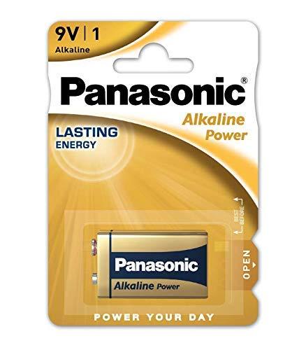 Panasonic 6 LR 61 Pap Alkali Batterie (9V)