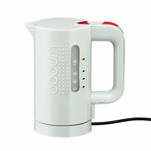 Bodum 11451-913US 17-Ounce Electric Water Kettle, White by Bodum