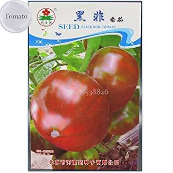 2018 heißen Erbstück russische Schwarz Krim Tomaten-Samen, Originalverpackung, 10 Samt, Leckeres Gemüse, Pflanzen, OFXY302Y