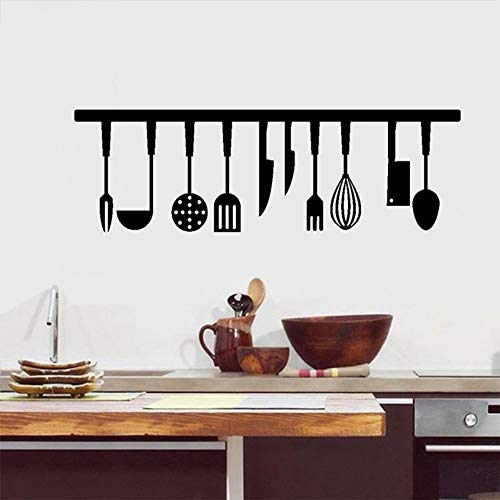 Taoyue keukengerei, wandsticker, keukenkast, achtergronddecoratie, muurkunst, sticker, wooncultuur, plakfolie, PVC-behang